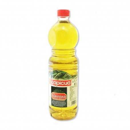 Capicua Aceite de Orujo de Oliva Suave - 1L