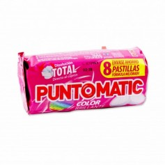 Puntomatic Detergente Color - (8 Pastillas) - 264g