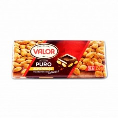 Valor Chocolate Puro con Almendras Enteras - 250g