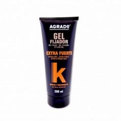 Agrado Gel Fijador Extra Fuerte con Keratina y Provitamina B5 - 200ml