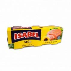 Isabel Atún en Aceite de Girasol - (3 Unidades) - 240g