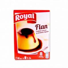 Royal Flan con Caramelo - (8 Sobres) - 186g