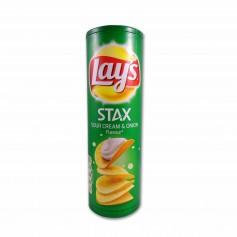 Lay´s Patatas Stax Sour Cream & Onion - 170g