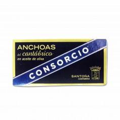 Consorcio Anchoas del Cantábrico en Aceite de Oliva Serie Oro - 45g