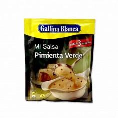 Gallina Blanca Salsa de Pimienta Verde - 50g
