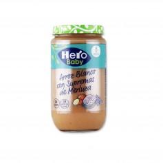Hero Baby Potito Arroz Blanco con Supremas de Merluza - 235g