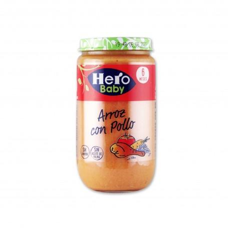 Hero Baby Potito Arroz con Pollo - 235g