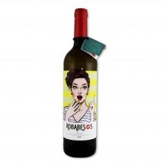 Robabesos Vino Blanco Semi Dulce - 75cl
