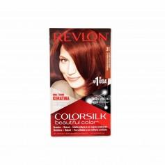 Revlon Tinte Colorsilk 31 Castaño Oscuro Cobrizo - 130ml