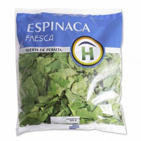 Espinacas Frescas en Bolsa - 300g
