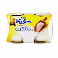 Nestlé La Lechera Yogur Natural Azucarado - (2 Unidades) - 250g
