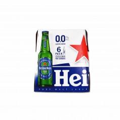 Heineken Cerveza 0.0 - (6 Unidades) - 150cl