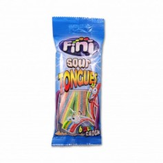 Fini Sour Tongues Fruit - 100g