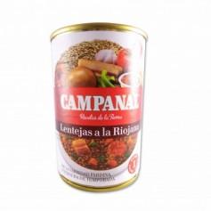 Campanal Lentejas a la Riojana - 425g