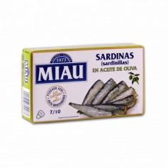 Miau Sardinillas en Aceite de Oliva - 85g