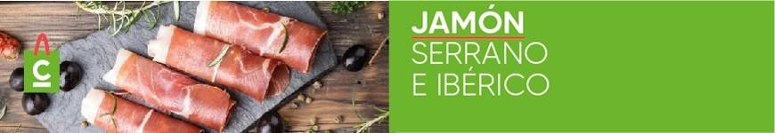 Jamón Serrano e Ibérico
